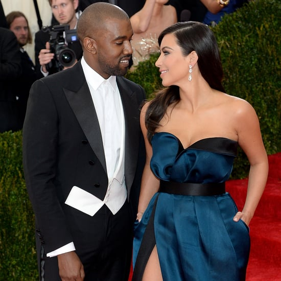 Kim Kardashian and Kanye West at the Met Gala Pictures