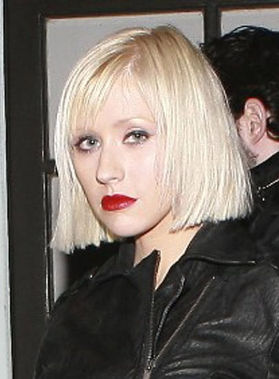 Christina Aguilera's New Bob Haircut