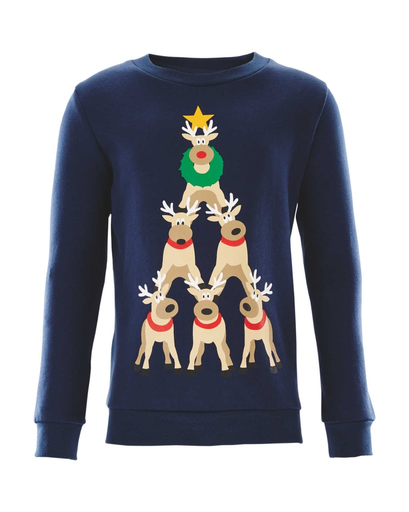Boys Lily Dan Reindeer Sweatshirt 599 Aldi Family And Pet