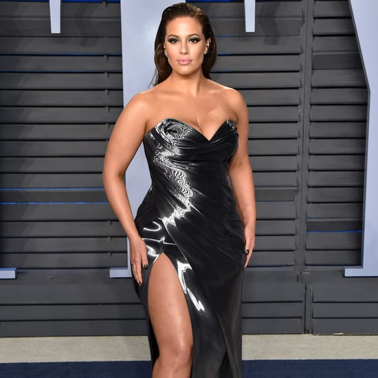 Ashley Graham Oscars Afterparty Dress 2018