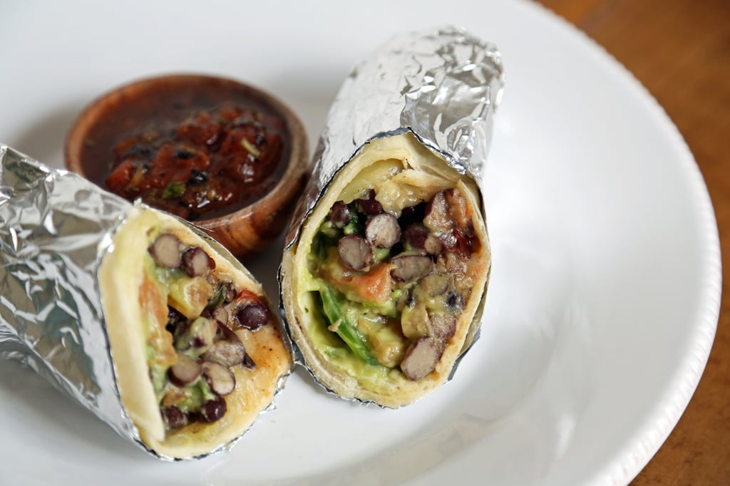 Day Three: Chicken and Black Bean Burrito