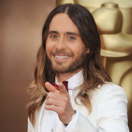Jared Leto's Hair at Oscars 2014