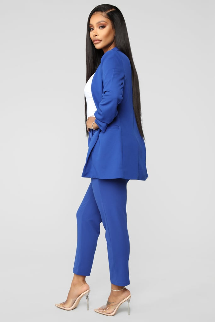Fashion Nova Royal Suit