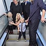 Jessica Simpson's Family at Belk in Dallas | Pictures
