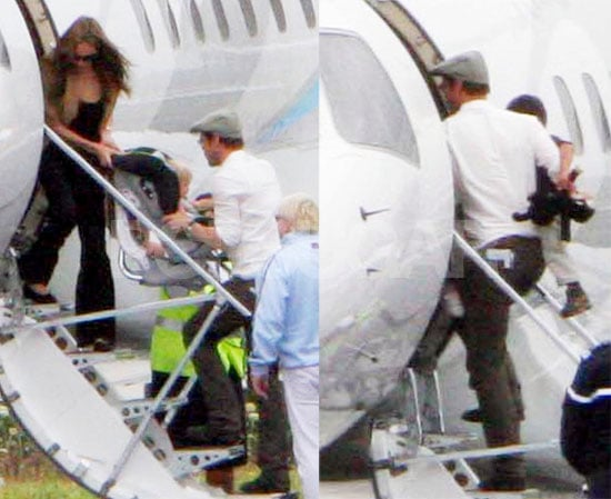 The Jolie-Pitts & Pearls Are Back On The Move