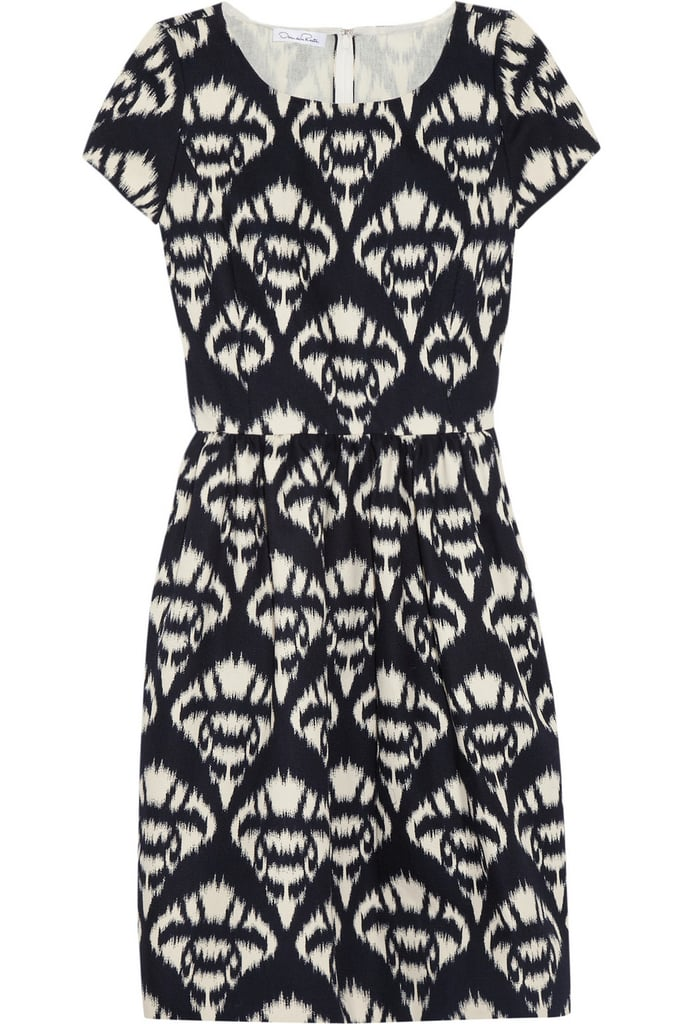 Oscar de la Renta for The Outnet printed cotton canvas dress ($465)