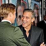 George and Ryan shared a laugh.
