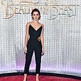 Emma Watson at the 2017 Beauty and the Beast LA Premiere