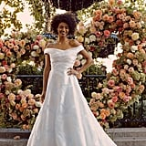 Bridal Trend 2020: Sophisticated, Off-the-Shoulder Dress