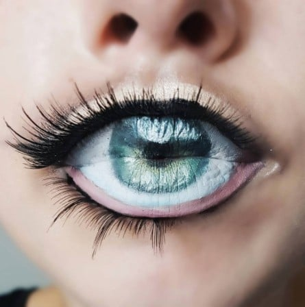 Eye Lip Art Looks