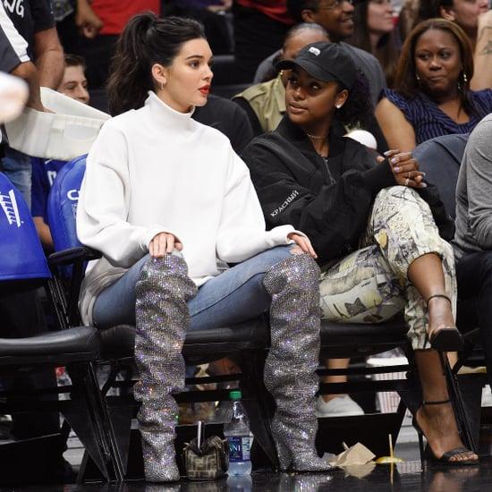 Kendall Jenner's Saint Laurent Boots