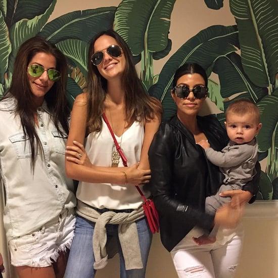 Kourtney Kardashian Shares Photo of Reign Disick