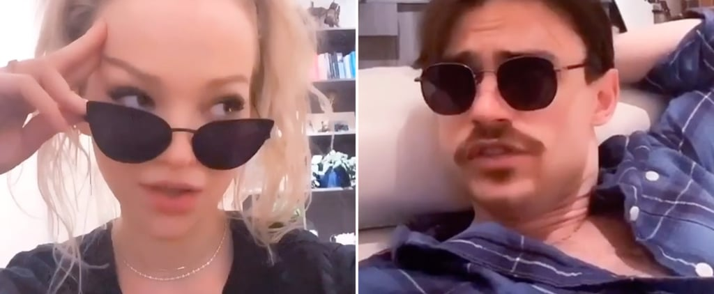 Watch Dove Cameron and Thomas Doherty's Kardashian TikTok