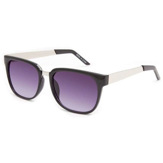 A touch of silver here and there makes these Blue Crown purple shades ($10) stand out.