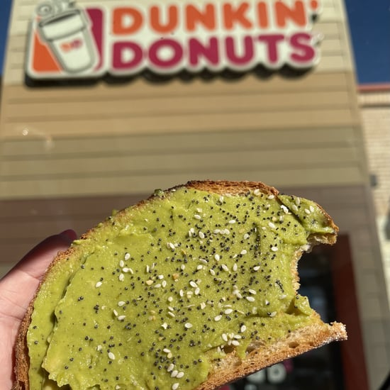 Dunkin' Donuts Avocado Toast Review
