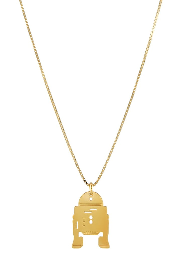 Star Wars Gold Necklace