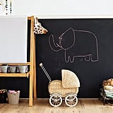 Chalkboard-Painted Kids' Rooms