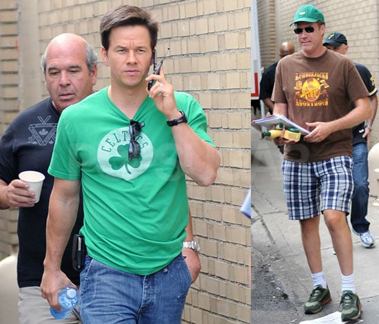 Photos of Mark Wahlberg and Will Ferrell