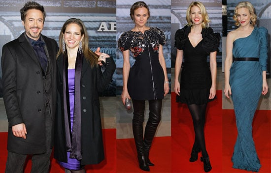 Photos of Diane Kruger, Rachel McAdams, January Jones at Sherlock Holmes Red Carpet in Berlin