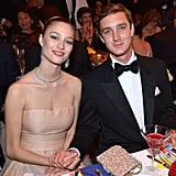 The couple smiled for cameras while supporting the Princess Grace Foundation in Monaco in March 2014.