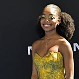 Marsai Martin's Golden Eye Shadow