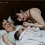Same-Sex Couple's Birth Photos