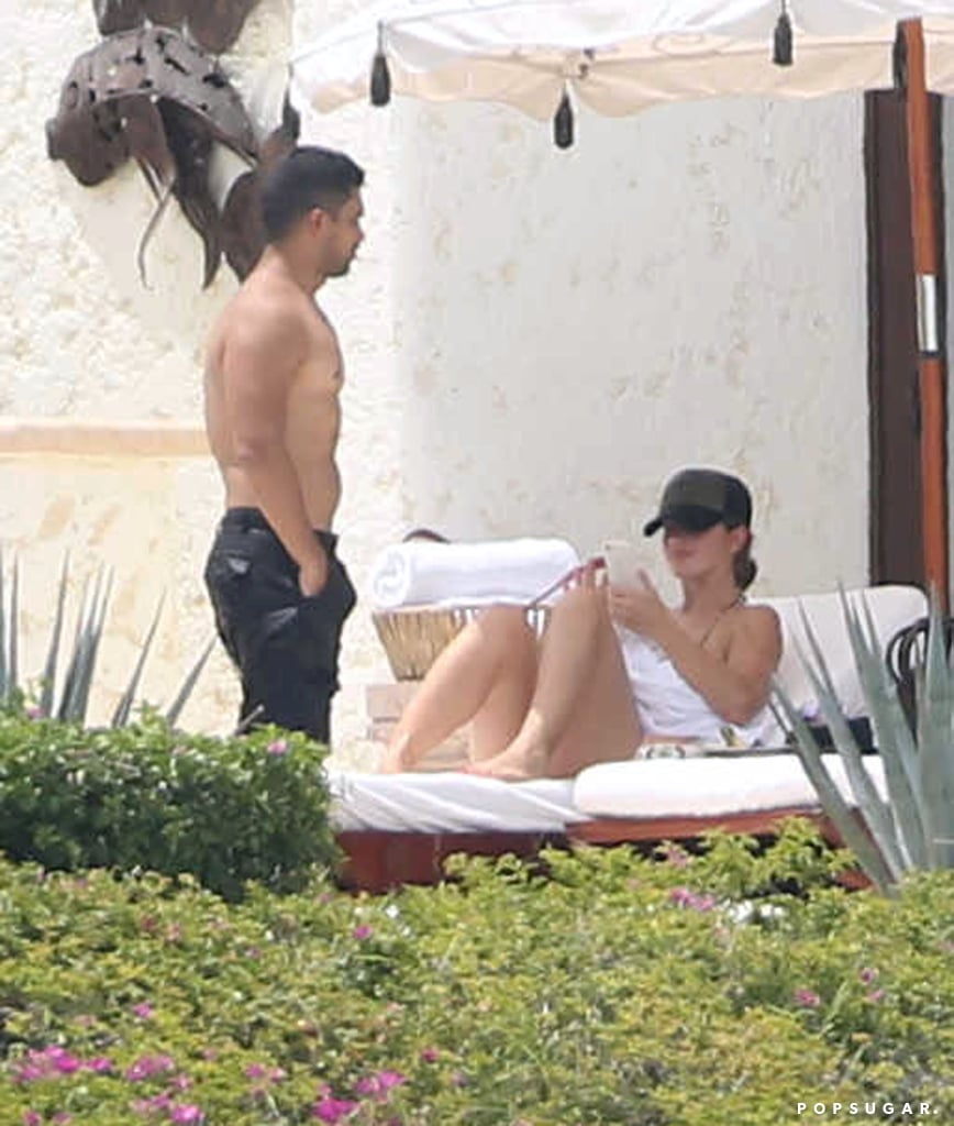 Minka Kelly and Wilmer Valderrama are giving love another shot! Less than a week after reports surfaced that the two were dating again, Minka and Wilmer escaped to Cabo San Lucas ahead of the Labor Day weekend. On Friday, the couple, who first dated back in 2012, were spotted basking in the sun and relaxing by the pool. Minka showed off her fit figure in a blue bikini, and Wilmer ditched his shirt and sported black board shorts. The actress was most famously linked to Derek Jeter, who is now married to Hannah Davis, while Wilmer recently split from Demi Lovato after six years of dating.       Related:                                                                Here Are a Bunch of Pictures of Wilmer Valderrama Looking Damn Sexy —You're Welcome                                                                   Breakup to Makeup: 38 On-Again, Off-Again Celebrity Couples
