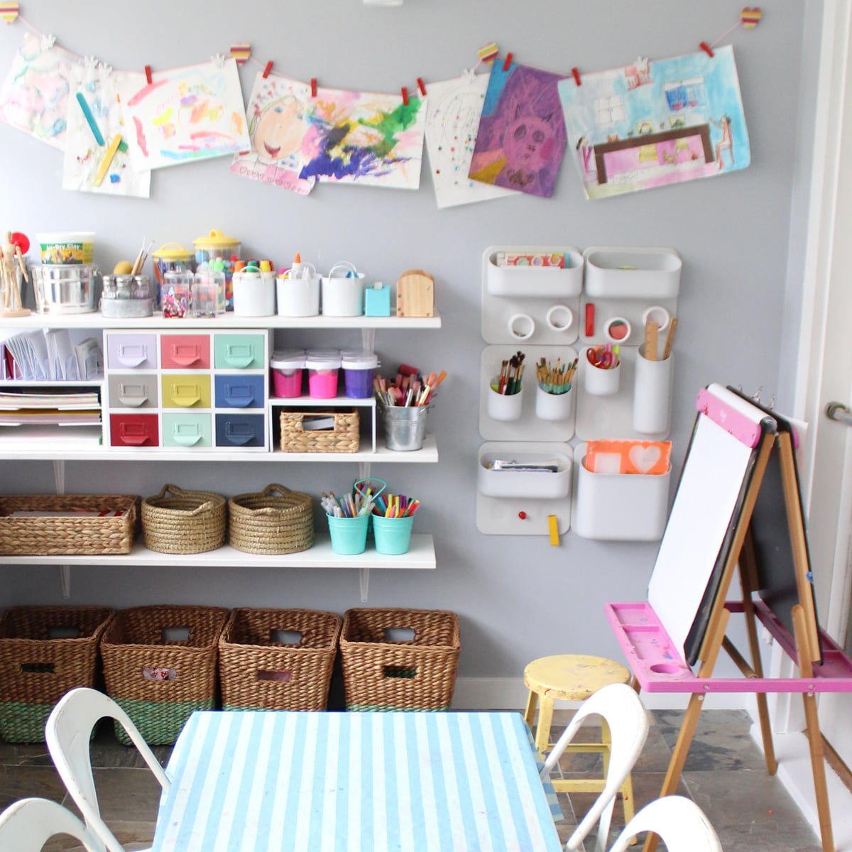 how to make kids playrooms more creative | popsugar moms