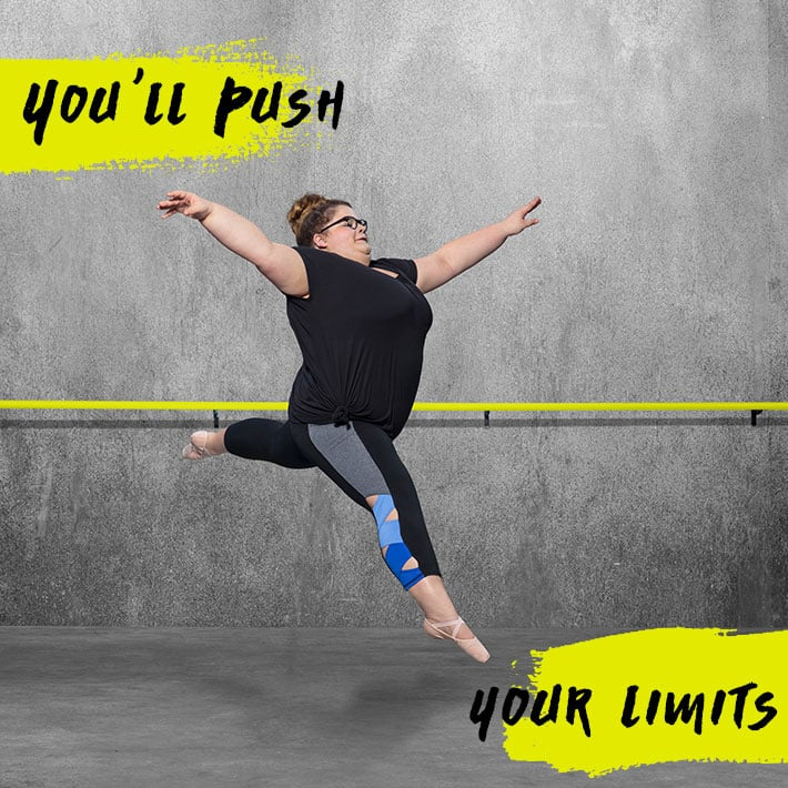 You will push your limits in dance class