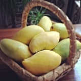 Sometimes simple is best when it comes to snacking, and isn't this basket of mangoes just pretty to look at (but even better to eat)? Source: Instagram User lalyastig