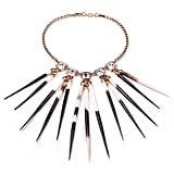 Lulu Frost Long Goldtone Quill Necklace, $395