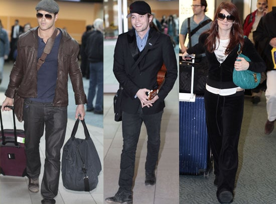 Pictures of Breaking Dawn Cast in Canada