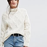 ASOS Cable-Knit Sweater