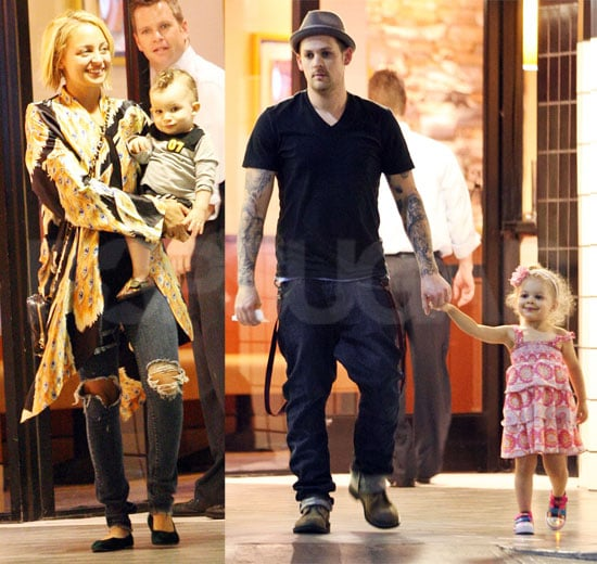 Pictures of Nicole Richie With Kids and Joel
