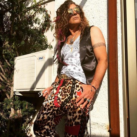 Antonio Banderas's Rocker Costume For Simon West's Salty
