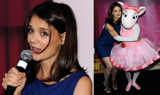 Pictures of Katie Holmes at a Dizzy Feet Foundation Fundraiser