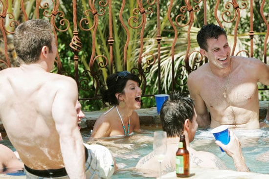 The Setting: Hot Tub