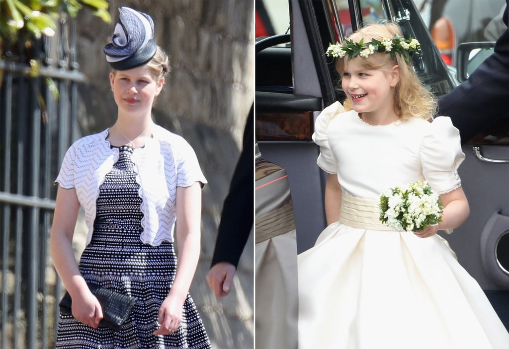 Lady Louise Windsor at Royal Wedding 2018