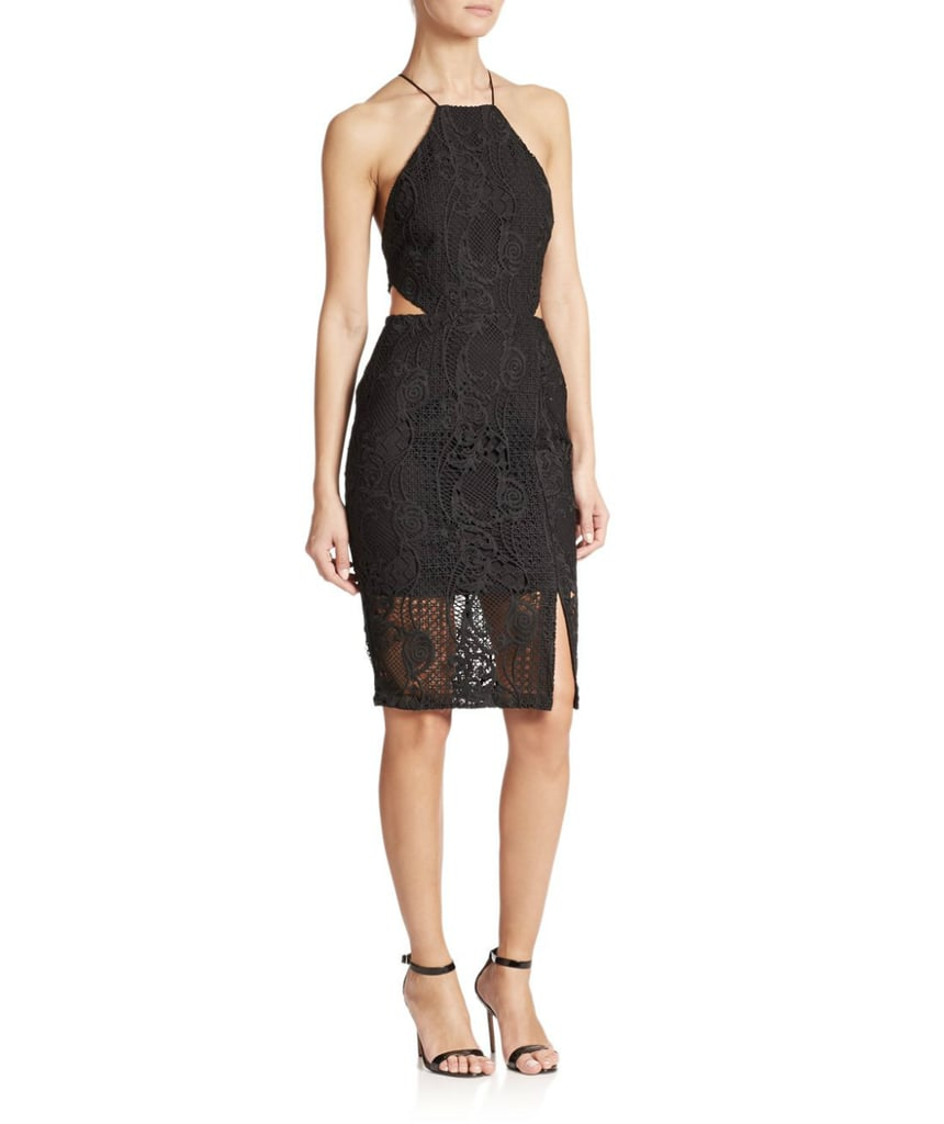 Nicholas Cutout Lace Sheath Dress ($635)