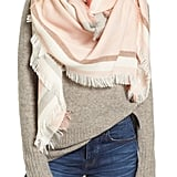 Madewell Colorblock Blanket Scarf