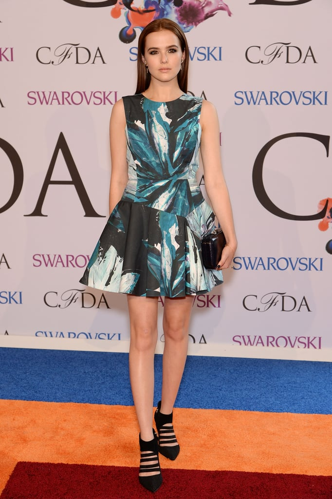 Zoey Deutch at the 2014 CFDA Awards