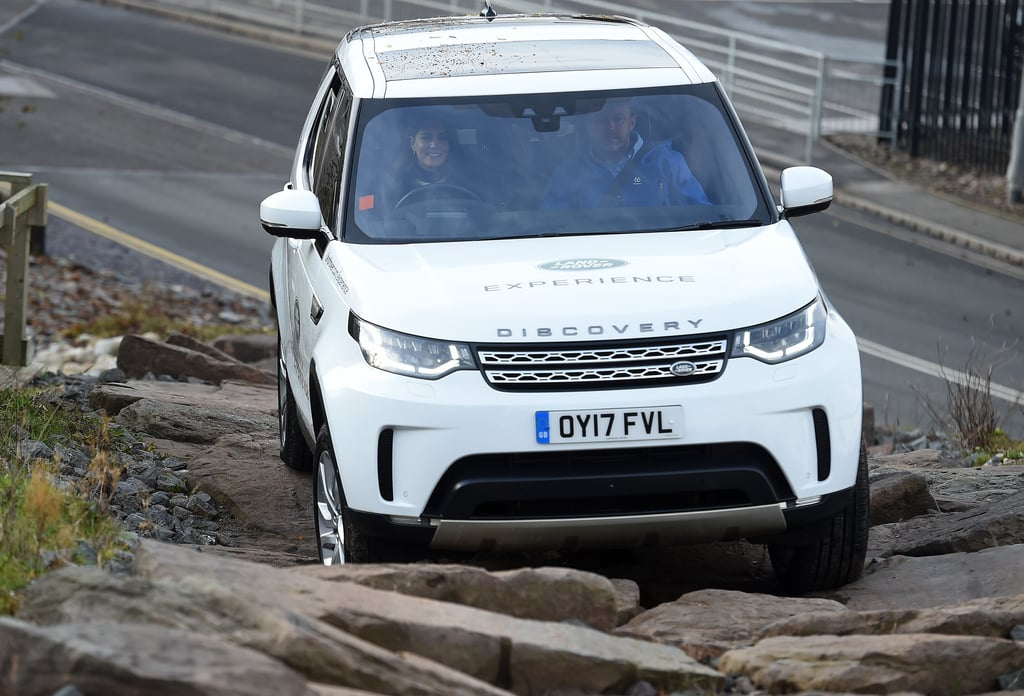 She Put the Pedal to the Metal While Off-Roading With Prince William in Birmingham