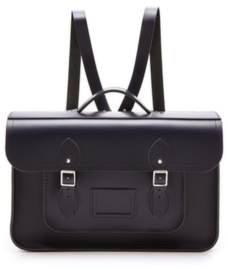 "Cambridge Silversmiths 15"" Satchel Backpack ($205)"