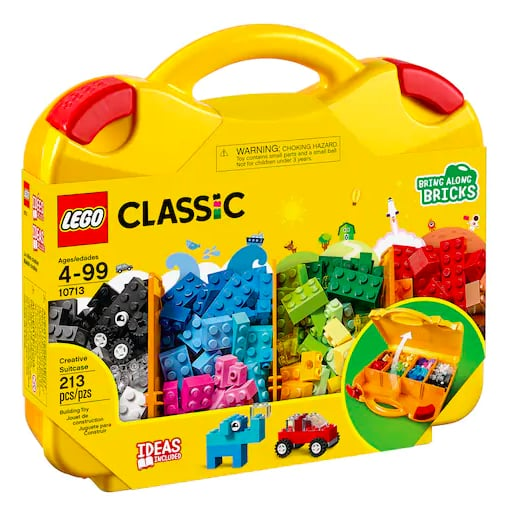 LEGO Creative Suitcase Set