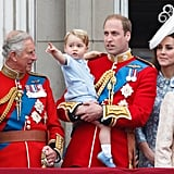 George's grandfather Charles is not yet on the throne, and so there is already a difference between their relationships. Additionally, while George's royal grandparents are traditional in many ways, Charles is more relaxed than the Queen was, and Camilla is notoriously down to earth. His Middleton grandparents are informal and relaxed.
