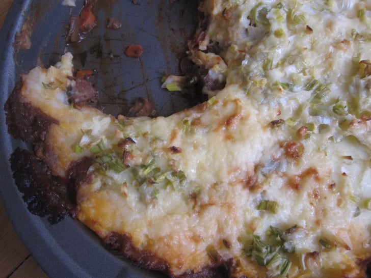 Shepherds Pie with Scallion-Cheese Crust