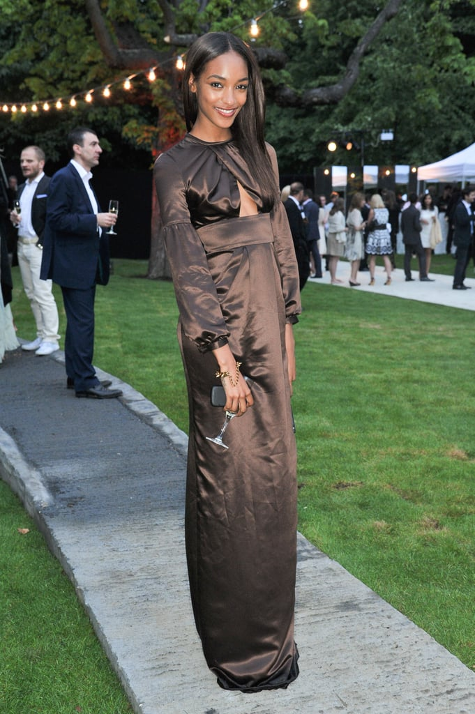 Jourdan Dunn in Burberry