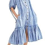 Free People Maya Midi Shirtdress