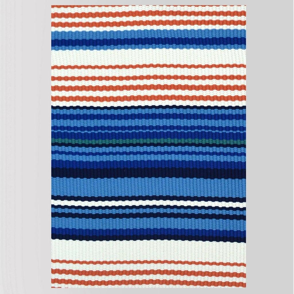 Multi Stripe Outdoor Rug