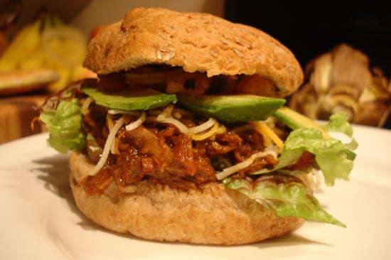 Recipe For Mexican Sloppy Joe Sandwich With Carnitas